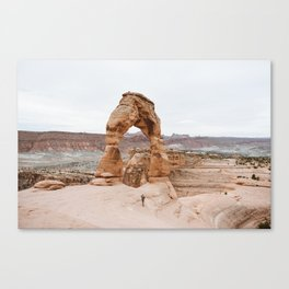 Early Morning at Delicate Arch Canvas Print