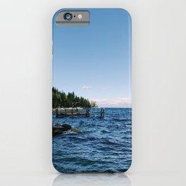 Meeks Bay Vista iPhone Case
