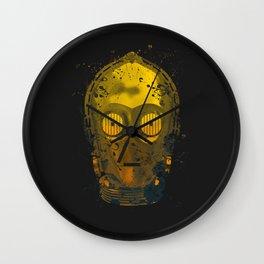 C3PO Splash Wall Clock