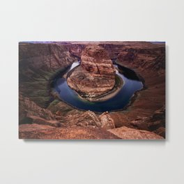 Horseshoe Bend Colorado Metal Print