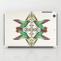 hummingbird iPad Cases featuring hummingbird  by Manoou
