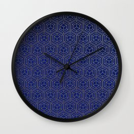 Hexagold Wall Clock