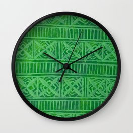 Abundance Pattern Wall Clock