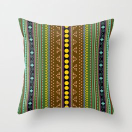African texture Throw Pillow