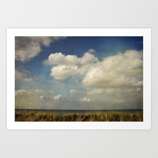 painted sky Art Print