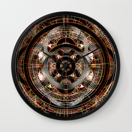 The Resonant Frequencies of Hell Wall Clock