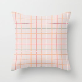BOHO GRID Throw Pillow