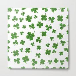 Shamrock, irish gifts women, irish gift, ireland, st patricks day, irish, luck of the irish Metal Print