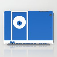 monster inc iPad Cases featuring Monsters, inc. by Citron Vert