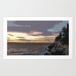 Color of Light Art Print