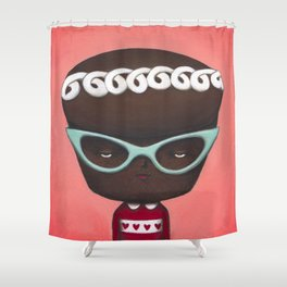 Hostess With the Mostest Shower Curtain
