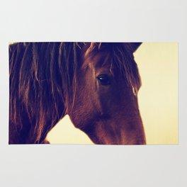 Western horse in porträit Rug