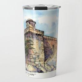 Hemingway's Cuba:  Fortress at Cojimar Travel Mug