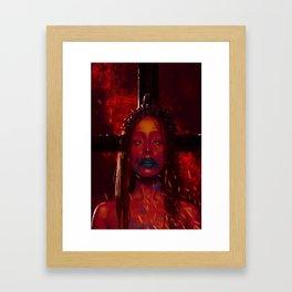 Kreuz Framed Art Print