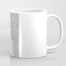 grayscale treemap mosaic Coffee Mug