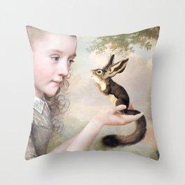 The Listener Throw Pillow