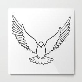 Dove Metal Print