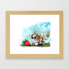 Strawberry Griffin Framed Art Print