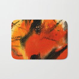 Art Abstraction 3 by Kathy Morton Stanion Bath Mat