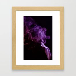 Smoke D-2 (The Sitting Maiden) Framed Art Print