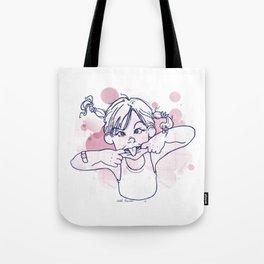 grimace girl Tote Bag