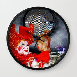 ALTERNATE REALITY FOR ALICE Wall Clock