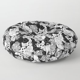 Witchy Familiars Floor Pillow