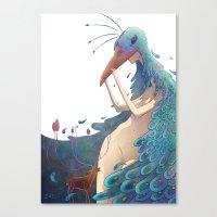 fairy Canvas Prints featuring Fairy by Amandine Riera ( Dïne )