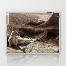 me and my thoughts... (sepia dream) Laptop & iPad Skin