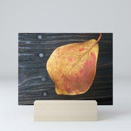 One Fallen Leaf Mini Art Print