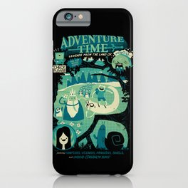 Legends from the Land of Ooo iPhone Case