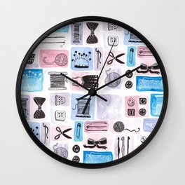 Crazy for Crafts Wall Clock