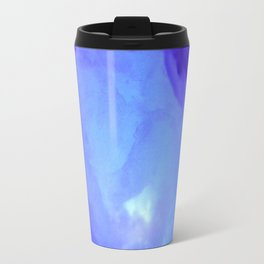 Textures (Blue version) Travel Mug