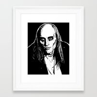 rocky horror picture show Framed Art Prints featuring Riff Raff (Rocky Horror Picture Show) by Blake Lee Ferguson
