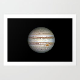 Jupiter planet Art Print