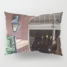 New Orleans Lampost on Royal Pillow Sham