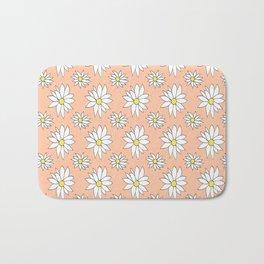 Fresh As A Daisy (Coral) Bath Mat