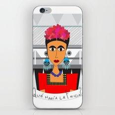 qué haría Frida? iPhone & iPod Skin