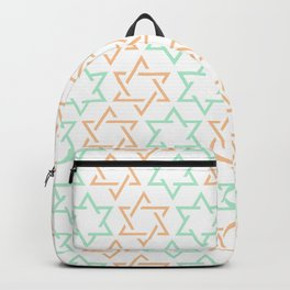 Star Of David Pattern  #society6 #decor #buyart #artprint Backpack