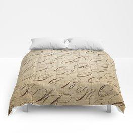 Calligraphitis Comforters
