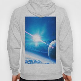 Stars Planets Asteroids Surface of planets Space 3D Graphics planet asteroid Hoody