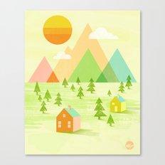 Prosperous Canvas Print