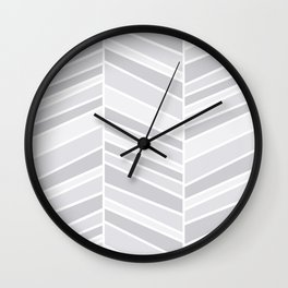Herringbone Wall Clock