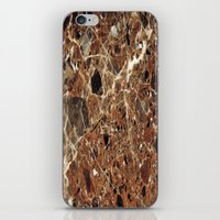 30 rock iPhone & iPod Skins featuring Marble Texture 30 by Robin Curtiss