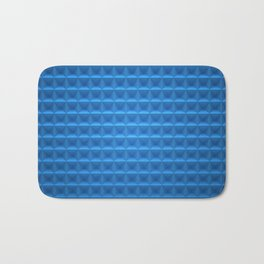 blue nice Bath Mat