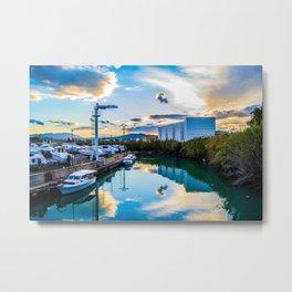 Seaport sunset Metal Print