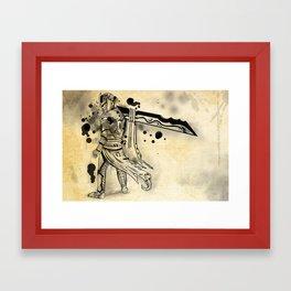 Ink Knight Framed Art Print