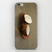 coconut wishes iPhone & iPod Skins featuring Coconut by cinema4design