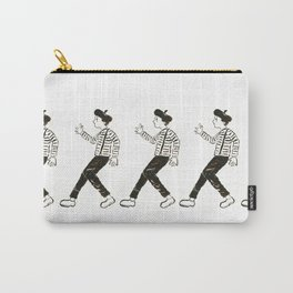 Talkless Man Carry-All Pouch