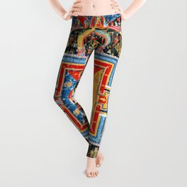 Mandala Buddhist 6 Leggings